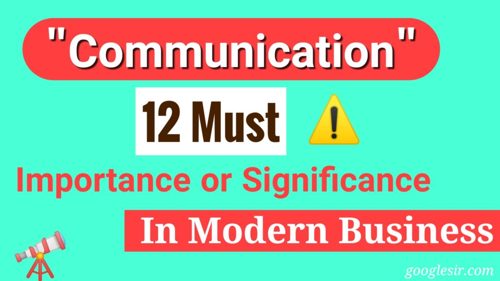 Importance of Effective Communication in Business