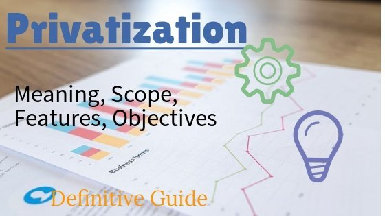 Privatization: Features Scope Objectives