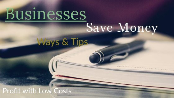 smarter ways to save money in small business