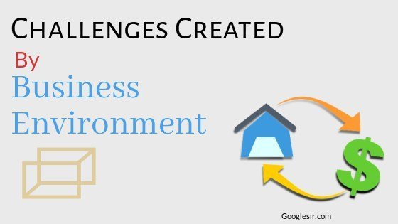 challenges created by business environment