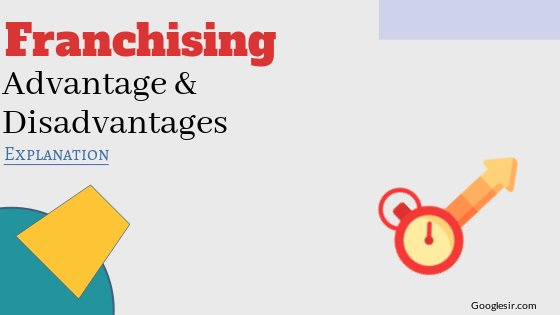 Advantages and Disadvantages of Franchising