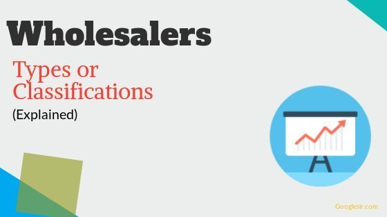 types of wholesalers