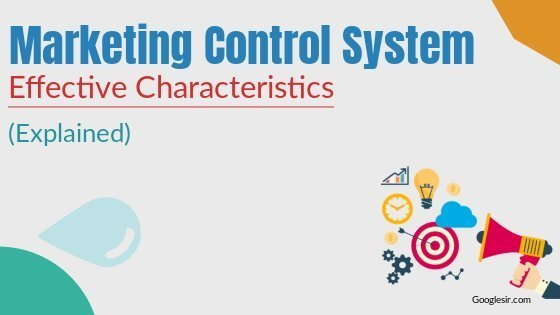 Characteristics of Effective Marketing Control System