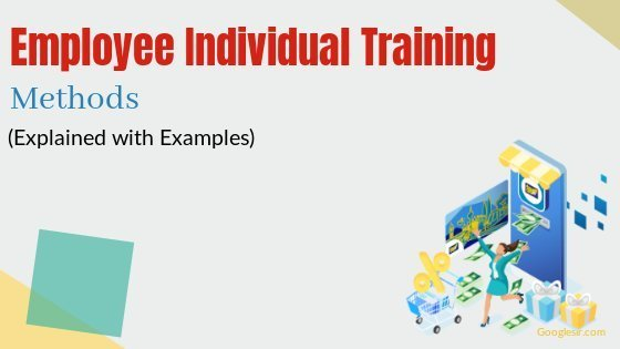 individual training methods for employees