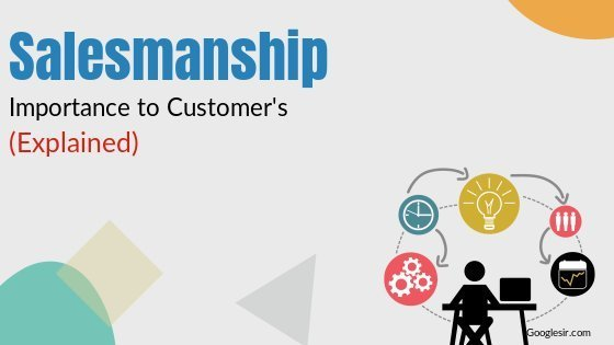 Importance of Salesmanship to Consumers