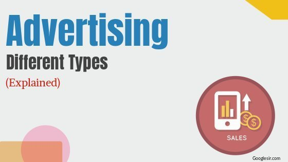 types of advertising in marketing