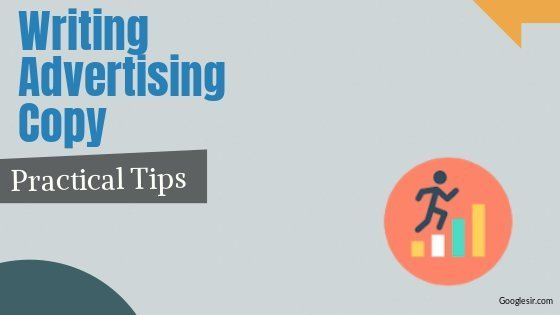 preparing an effective advertising copy