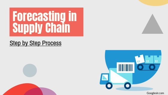 process of forecasting in supply chain management