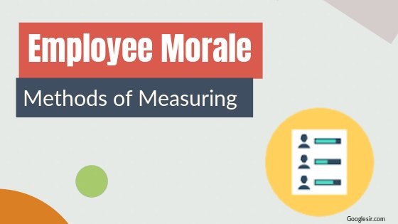 measurement of employee morale