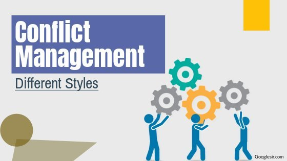 styles of conflict management